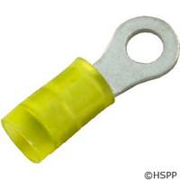 Generic Ring Terminal, Yellow 12-10 Awg #10 Stud (Pkg 25) -