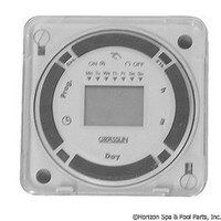 Grasslin Controls Corp. Digital Time Control 120V Panel Mount - FM1D20E-120