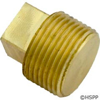 "Hayward Pool Products 3/4"" Npt Brass Plug - CHXPLG1930"