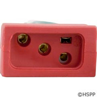 Hydro Quip Receptacle, Pump 1, 2 Speed, Molded, Red, 14/4 - 09-0022C-A