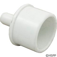 "Waterway Plastics Barb Adapter 1""Spg X 3/8""B - 425-5010"