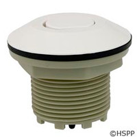 Pres Air Trol Contemporary Flush Button, White - B225-WF