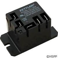 Zettler Power Relay, Az2280-1C-120A 30A Mini Spdt 120Vac -