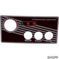 Tecmark Corporation 3-Btn Cc Faceplate W/O Display - 30216BM
