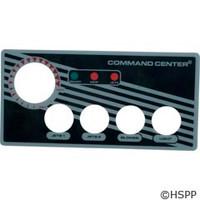 Tecmark Corporation 4-Btn Cc Faceplate W/O Display - 30202BM