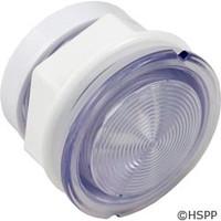 "Waterway Plastics Light Wall Fitting,W/Reflector 2 5/8""Hole Size,3 1/4""Face - 630-5005"