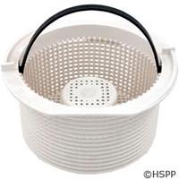 Waterway Plastics Basket Assembly, Raised Center (W/Handle) - 550-1220