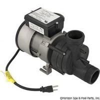 Balboa Water Group/Vico Power Wow Bath Pump 1.0Hp 1Spd 115V W/Cord&Airswitch - 1051057