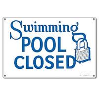Pool Sign - Swimming Pool Closed - 40333