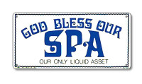 Spa Sign - God Bless our spa - 41343