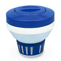 Floating Chlorine Dispenser - Large - Blue/White