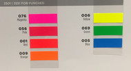 "FDC 3501 Series Promotional Fluorescent Vinyl 36"" x 50yds"