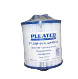 25sqft pleatco spa filters coleman