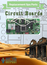 Spa Circuit boards at Hot Tub Outpost