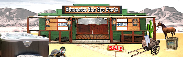 dimension one spa parts free shipping hot tub outpost. Black Bedroom Furniture Sets. Home Design Ideas