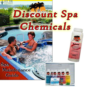 Discount hot tub chemicals online for QCA Spas and other brand hot tubs.