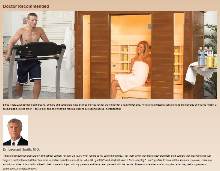 Doctor Recommended Infrared Sauna