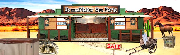 dreammaker spa parts aquarest
