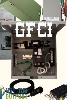 hot tub electrical installation hookup gfci rh hottuboutpost com Electrical Panel Wiring Electrical Panel Wiring