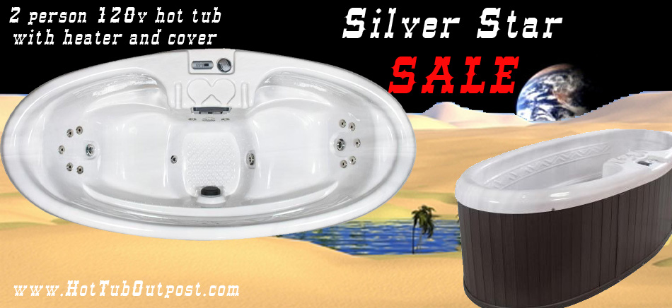 QCA Silver Star Sicily Sale at Hot Tub Outpost Black Friday