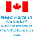 Canada hot tub parts and supplies at The Hot Tub Superstore