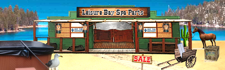 leisure bay spa parts online