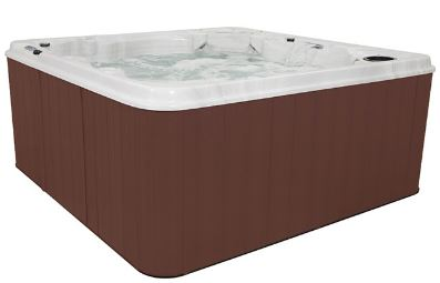 QCA Spas Moonstone Hot Tub Cabinet Side View