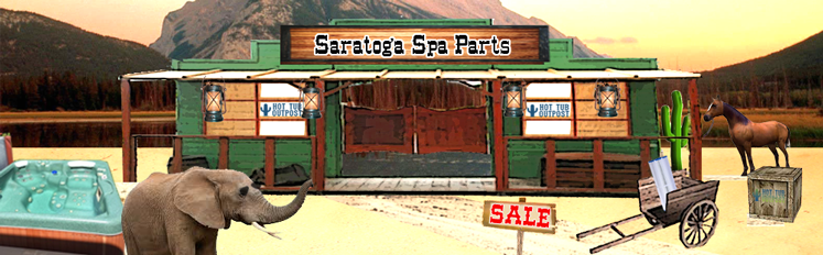 saratoga spa parts online