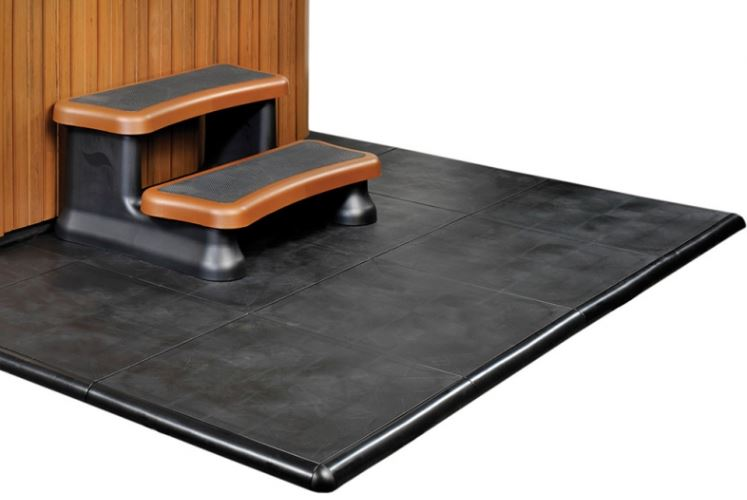 smart deck with step