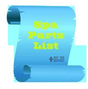 spa parts list
