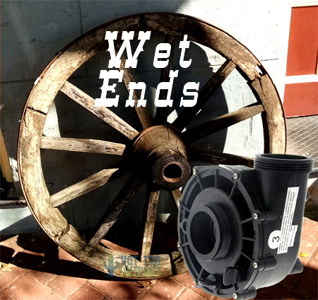 Wet ends for spa pumps Waterway Vico AquaFlo