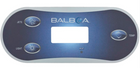 3 Button Balboa Overlay 12438 VL406 VL406T Jet Light Temp