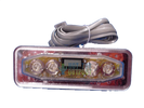 Emerald Spa Lite Duplex LCD Rectangular Control Panel 50001500