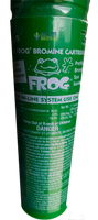 Green cartridge 200 grams bromine Frog in-line