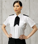 Ladies Short Sleeve Pilot Shirt - Premier PR312