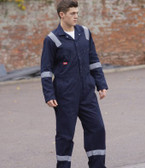 Dickies Hi Vis Stripe Coverall WD2279