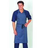 Waterproof PU Nylon Striped Light Duty Apron DP19
