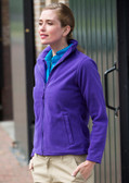 Henbury Ladies Micro Fleece Jacket - H851