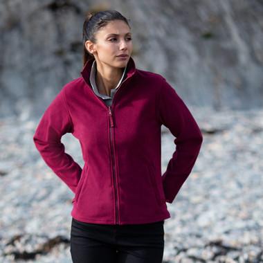 Ladies Micro Fleece Jacket Henbury