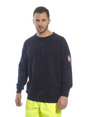 Flame Retardant Anti Static Long Sleeve Sweatshirt FR12