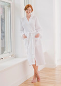 Towel City Waffle Robe with embroidered Name or Initials