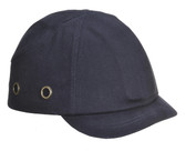 Short Peak Bump Cap Navy