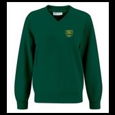 Lindley Junior V Neck Sweatshirt - Embroidered & Delivered to School