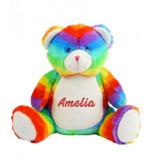 Pesonalised Rainbow Bear