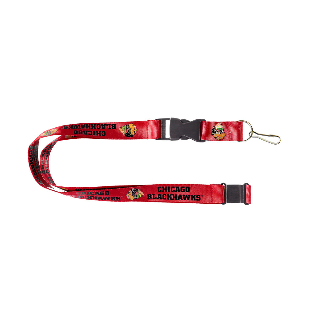 Chicago Blackhawks Lanyard - Red