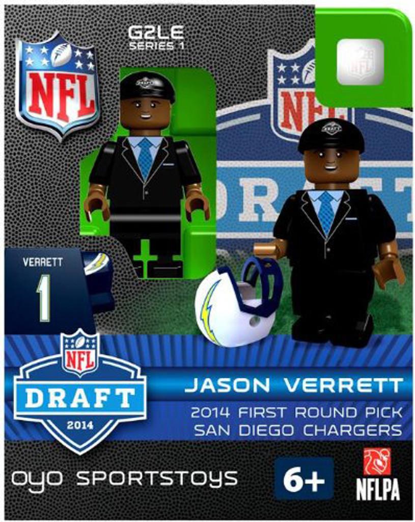 San Diego Chargers OYO Sportstoys Draft Pick Figurine