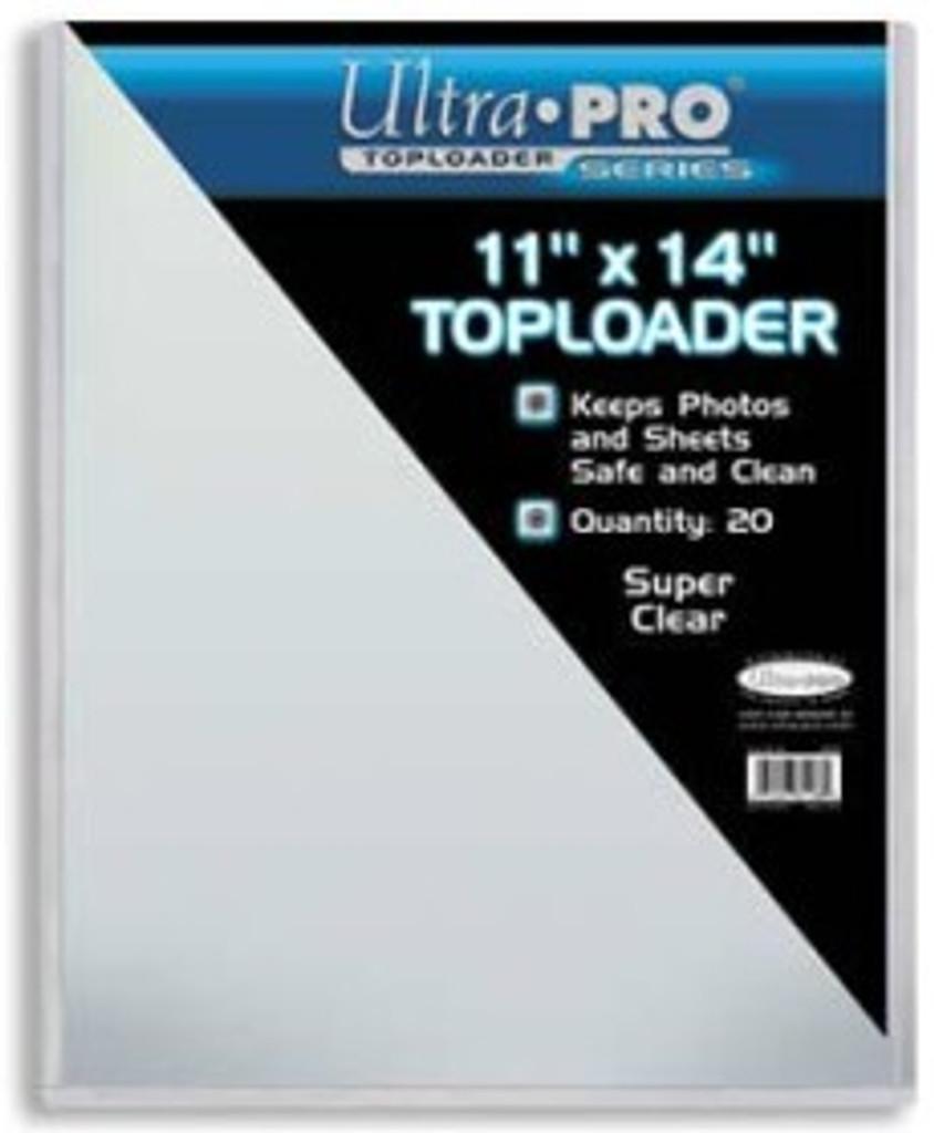 """Top Loader - 11""""x14"""" (20 per pack)"""
