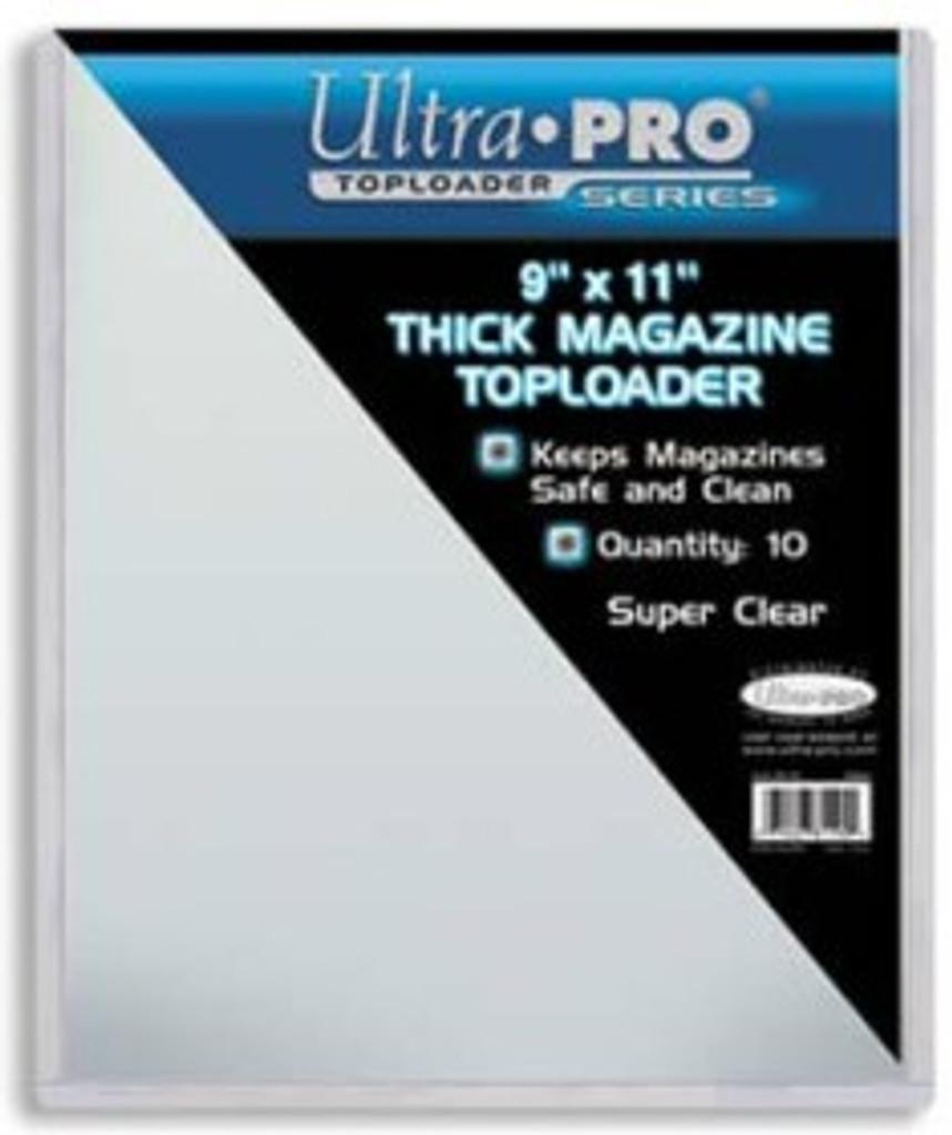 "Top Loader -  9""x11 1/2"" Magazine (10 per pack)"
