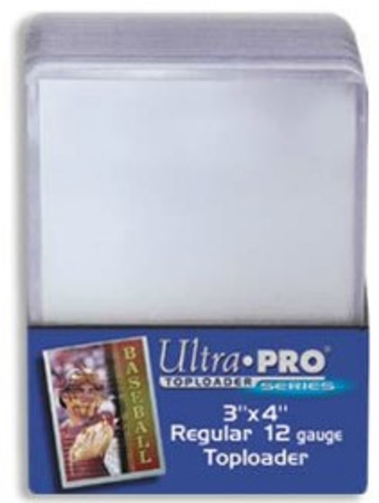 """Top Loader - 3""""x4"""" Light Clear (25 per pack)"""