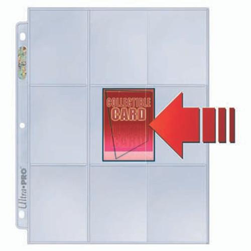 Ultra Pro 9 Pocket SIde Loading #82892 - (100ct)